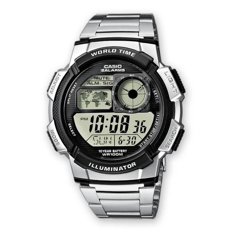Reloj Casio AE 1000WD 1AVEF de hombre NEW con caja y brazalete de acero Casio Collection 2015