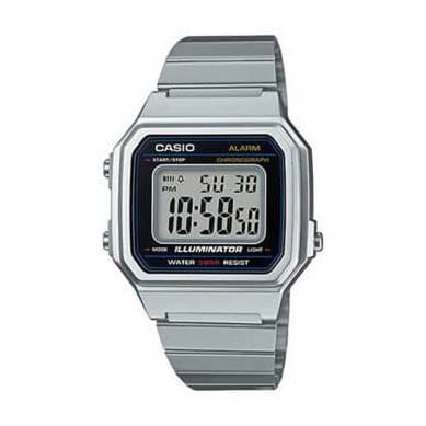 Reloj Casio B650WD-1AEF Unisex NEW con caja y correa de resina endurecida plata nuevo modelo Casio Collection