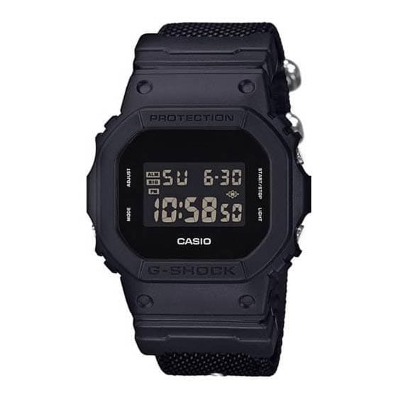 Reloj Casio DW-5600BBN-1ER de hombre NEW con caja y correa de resina-nylon G-SHOCK 2017