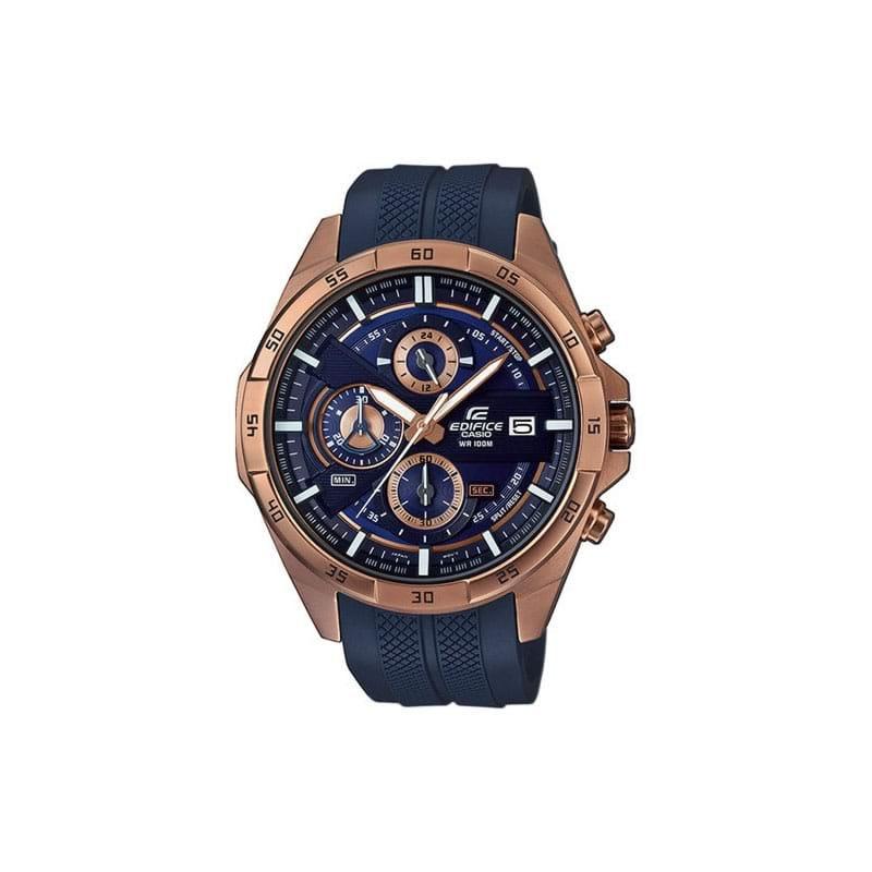 fd93bc74b3cf Reloj Casio EFR-556PC-2AVUEF de hombre NEW con caja de acero ip oro ...