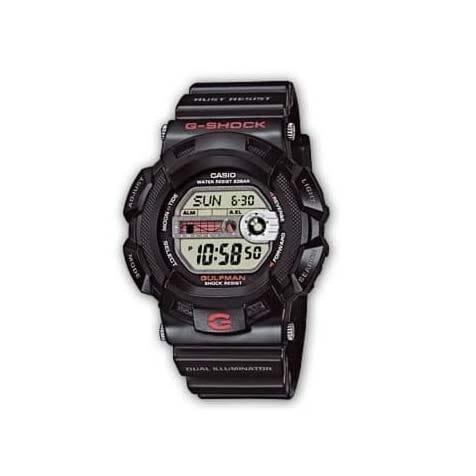 Reloj Casio G-9100-1ER G-Shock Gulfman para hombre G-9100-1ER de caucho