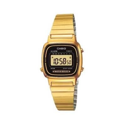Reloj Casio LA670WEGA-1EF de muejr NEW con caja y brazalete de acero Casio Collection