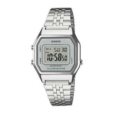 Reloj Casio LA680WEA-7EF de mujer con caja y correa de acero Casio Collection