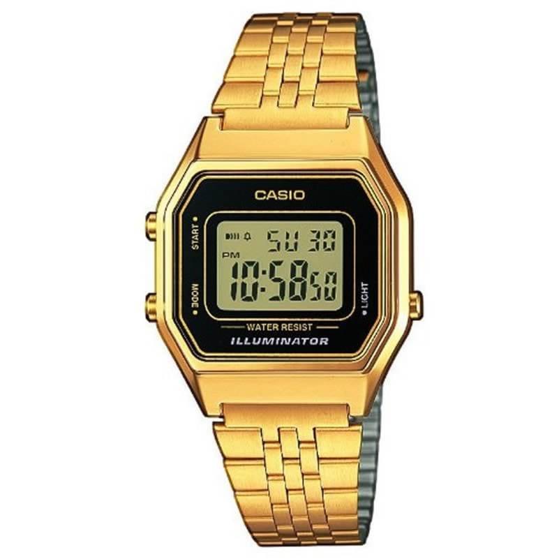 5c6960b0af2f Reloj Casio LA680WEGA-1ER de mujer con caja y pulsera de acero Casio  Collection