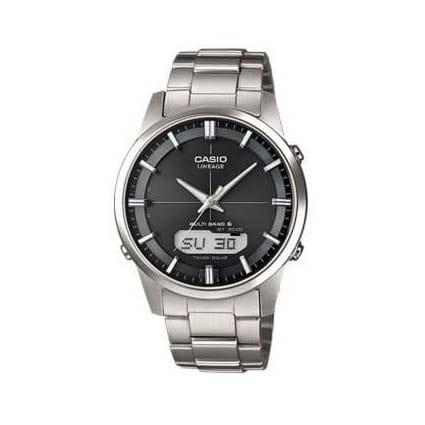 Reloj Casio LCW-M170TD-1AER de hombre NEW con caja y brazalete de titanio Wave-Ceptor