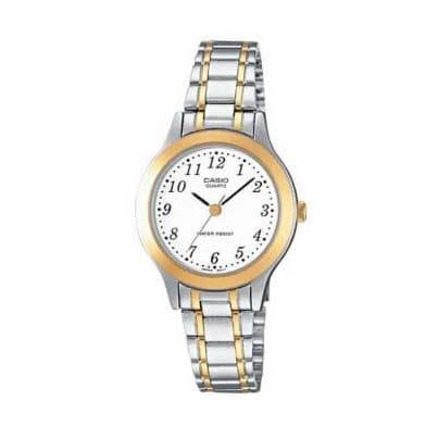 Reloj Casio LTP-1263PG-7BEF de mujer NEW con caja y brazalete de acero bicolor Casio Collection 2015