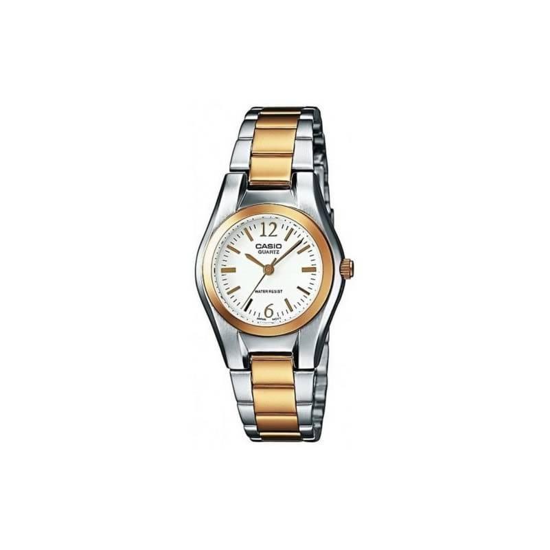 722a169ffe8c Reloj Casio LTP-1280PSG-9AEF de mujer con caja y brazalete de acero  bicolor. Clic para agrandar