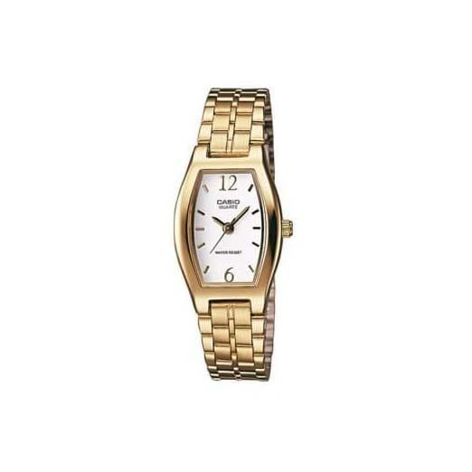 Reloj Casio LTP-1281PG-7AEF de mujer con caja y brazalete de acero chapado