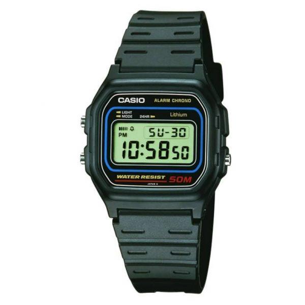 Reloj Casio para hombre W-59-1VQES de caucho