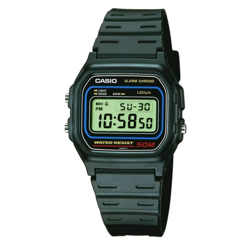 fed7ef697ba7 Reloj Casio para hombre W-59-1VQES de caucho - Joyería Oliva