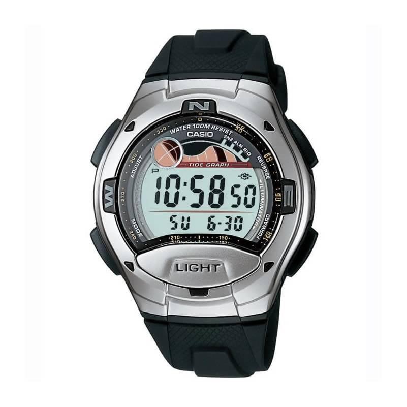 12c7af298132 Reloj Casio para hombre W-753-1AVES de caucho - Joyería Oliva