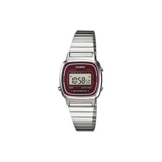 Reloj Casio para mujer LA670WEA-4EF de acero