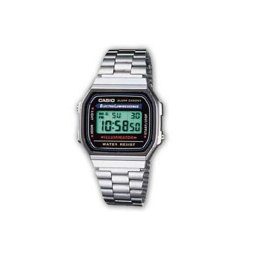 Reloj Casio unisex A168WA-1YES de acero