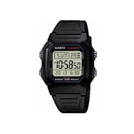 Reloj Casio W-800H-1AVES de hombre con caja y correa de resina Casio Collection