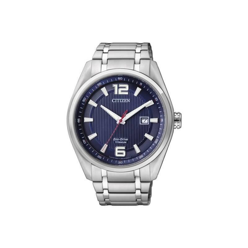 7f54cc8f4445 Reloj Citizen AW1240-57M de hombre con caja y brazalete de titanio SUPER  TITANIUM Eco. Clic para agrandar
