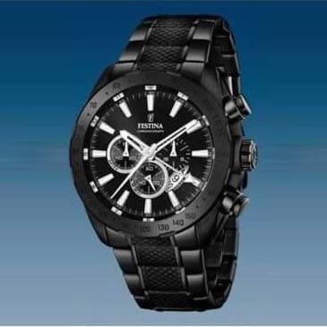 Reloj Festina F16889/1 de hombre NEW con caja y brazalete de acero ip negro nueva colección Prestige 2016