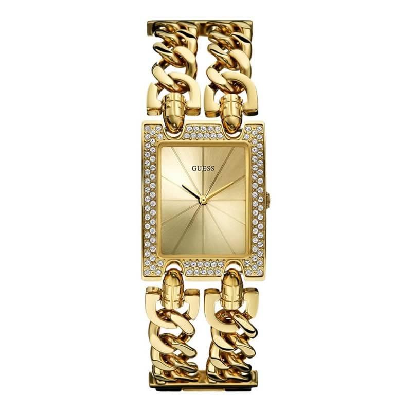 reloj guess mujer dorado