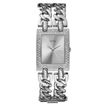 Reloj Guess W95088L1 2 cadenas de acero y Swarovski