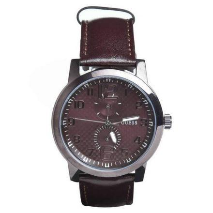Reloj Guess W95111G4  en acero y piel