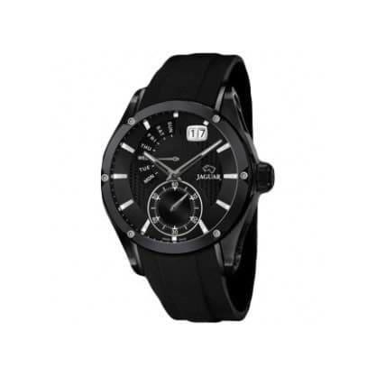 Reloj Jaguar J681/1 de hombre NEW con caja de acero ip black y correa de caucho Edición Limitada