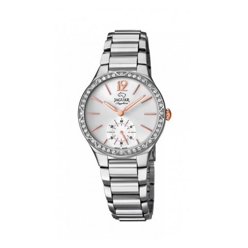 080211bf64f7 Reloj Jaguar J817 1 de mujer NEW con caja y brazalete de acero con cristal