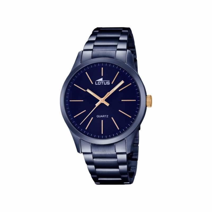 05dcc52c105e Reloj Lotus 18163 2 de hombre NEW con caja y brazalete de acero ip azul