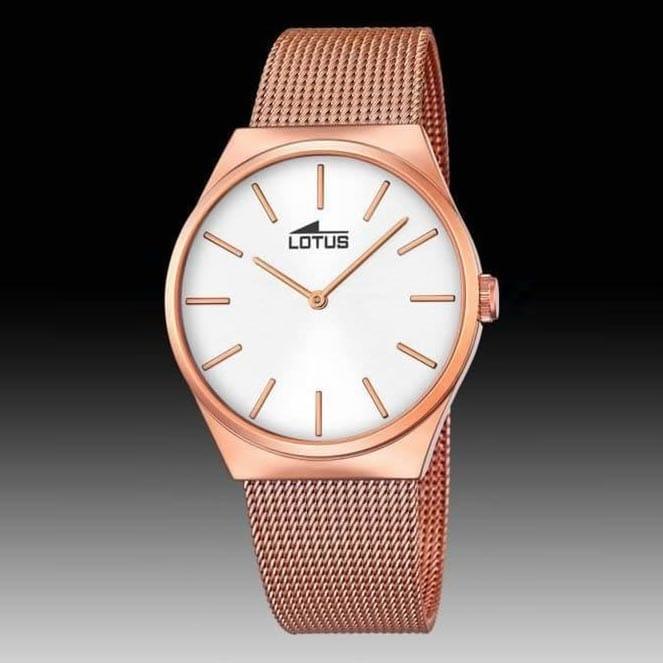 182861 Lotus Hombre Chapado De Acero Couples Reloj Rosa The New Oro 2016 Brazalete En Con Caja Y xBsdthCQr