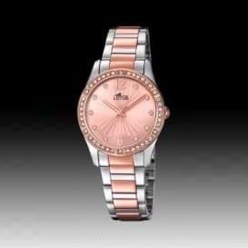 Reloj Lotus 18384/2 de mujer NEW con caja y brazalete de acero bicolor oro rosa nueva colección Bliss