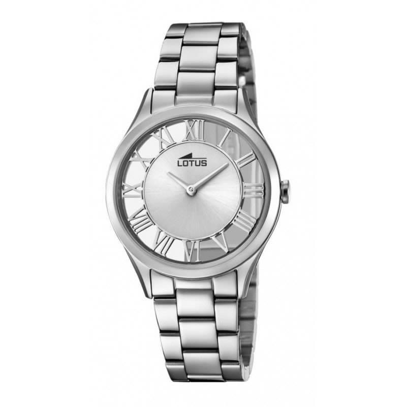 53e86cb0d697 Reloj Lotus 18395 1 de mujer NEW con caja y brazalete de acero colección  Trendy