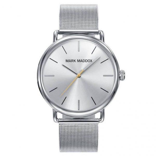 """Reloj Mark Maddox HC3029-07 de hombre NEW con caja y brazalete malla """"milanesa"""""""