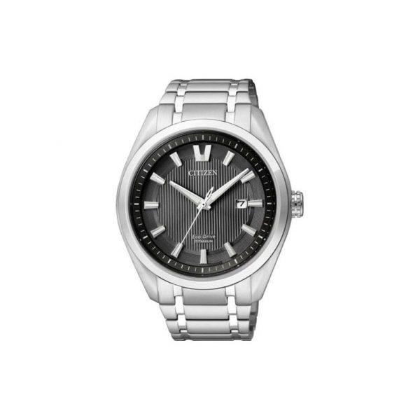 Reloj Citizen AW1240-57E de hombre NEW con caja y brazalete de titanio