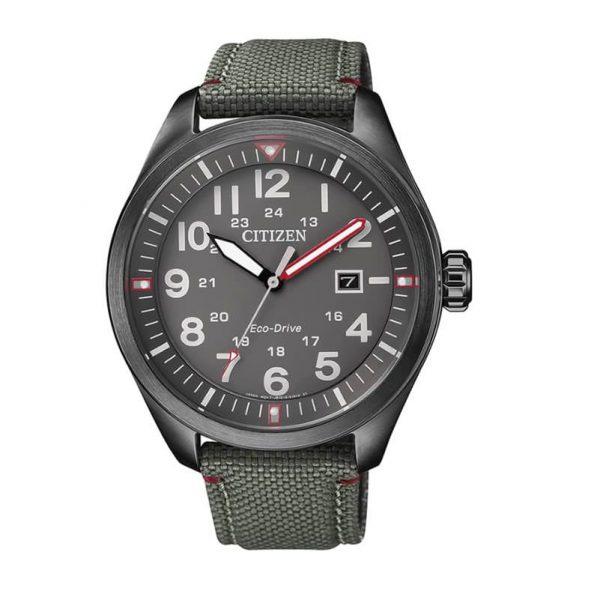 Reloj Citizen AW5005-39H de hombre NEW con caja de acero y correa de piel-nylon Urban