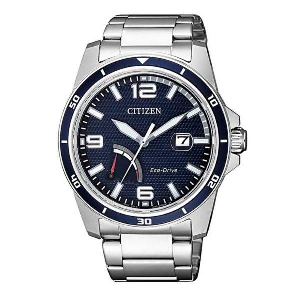 Reloj Citizen AW7037-82L de hombre NEW con caja y brazalete de acero Eco-Drive J850
