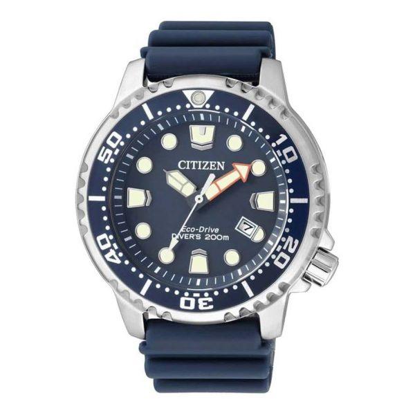 Reloj Citizen BN0151-17L de hombre NEW con caja de acero y correa de caucho Diver Eco-Drive 2015