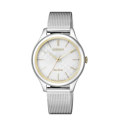 Reloj Citizen EM0504-81A de mujer NEW con caja y brazalete de acero bicolor Eco-Drive Lady