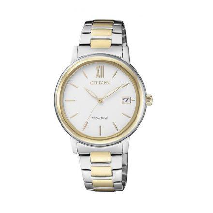 Reloj Citizen FE6094-84A de mujer NEW con caja y brazalete de acero bicolor Eco-Drive Lady