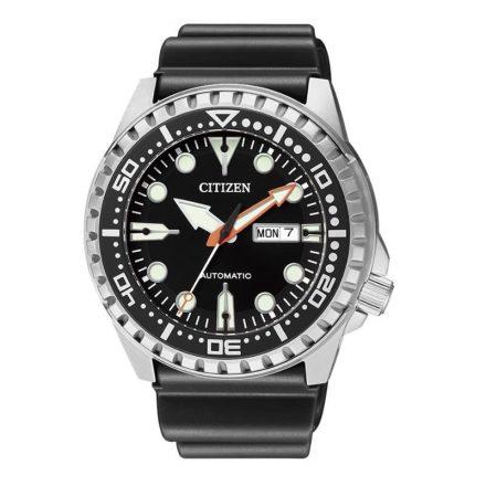 Reloj Citizen NH8380-15E de hombre NEW con caja de acero y correa de resina Automático