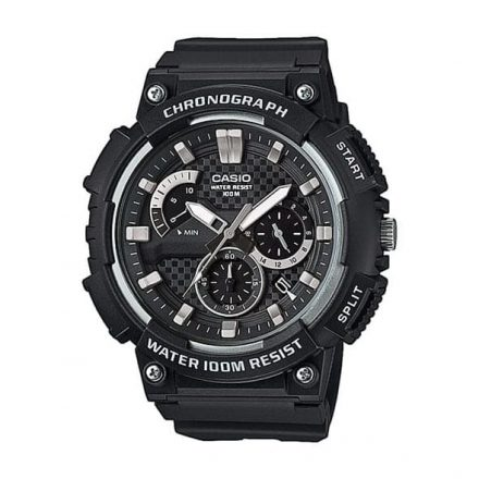 Reloj Casio MCW-200H-1AVEF de hombre NEW con caja y correa de resina negra Casio Collection