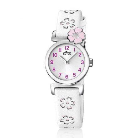 Reloj Lotus 18174/2 de niña NEW con caja de acero y correa de piel especial Comuniones