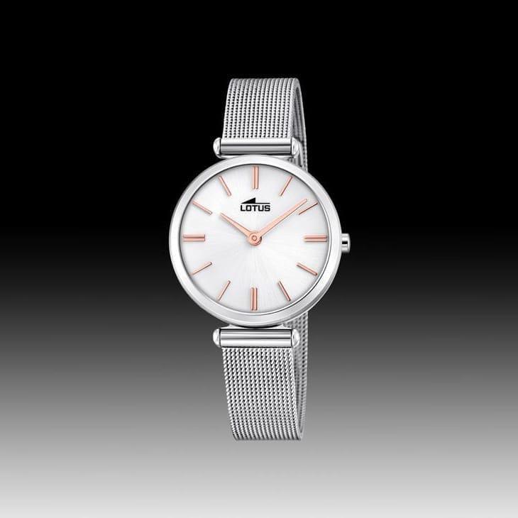 81afff82deea Reloj Lotus 18538 1 de mujer NEW con caja y brazalete de acero malla  milanesa