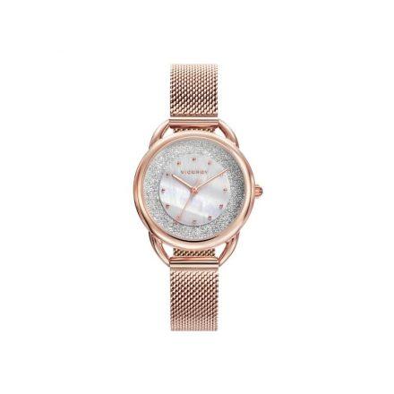 Reloj Viceroy 401032-90 de mujer NEW con caja y brazalete de acero rosa malla milanesa Chic