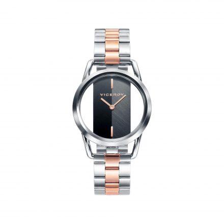 Reloj Viceroy 42336-57 de mujer NEW con caja y brazalete de acero bicolor rosa colección Air
