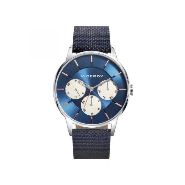 Reloj Viceroy 471143-37 de hombre NEW con caja de acero y correa de nylon colección Collours