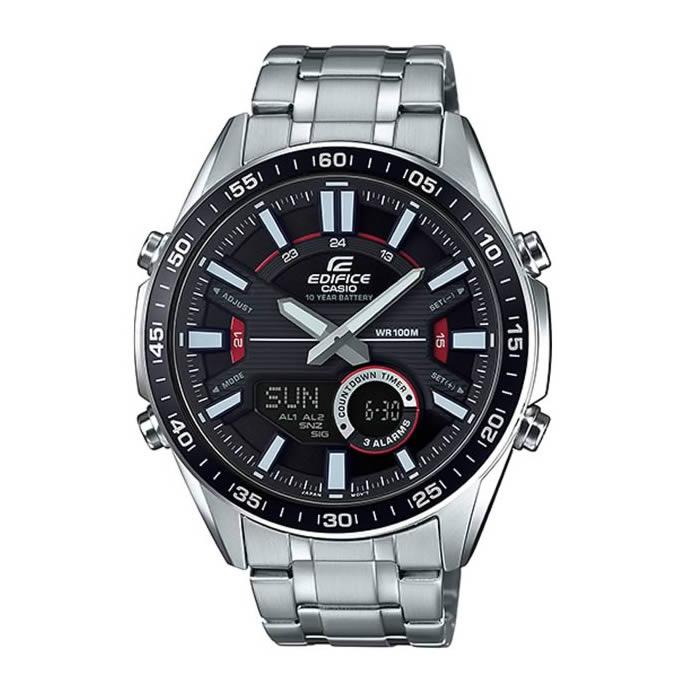 6c3c769e1b44 Reloj Casio de hombre EFV-C100D-1AVEF con caja y correa de acero inoxidable