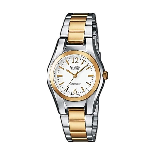 3679745c7db2 Reloj Casio de mujer LTP-1280PSG-7AEF con caja de latón