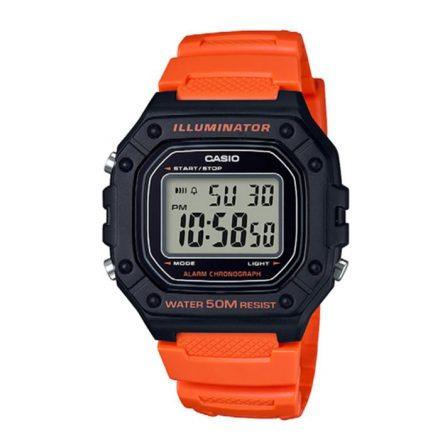 Reloj Casio de hombre W-218H-4B2VEF con caja y correa de resina