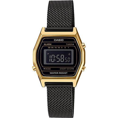 Reloj Casio LA690WEMB 1BEF de mujer con caja de resina y malla Casio Collection