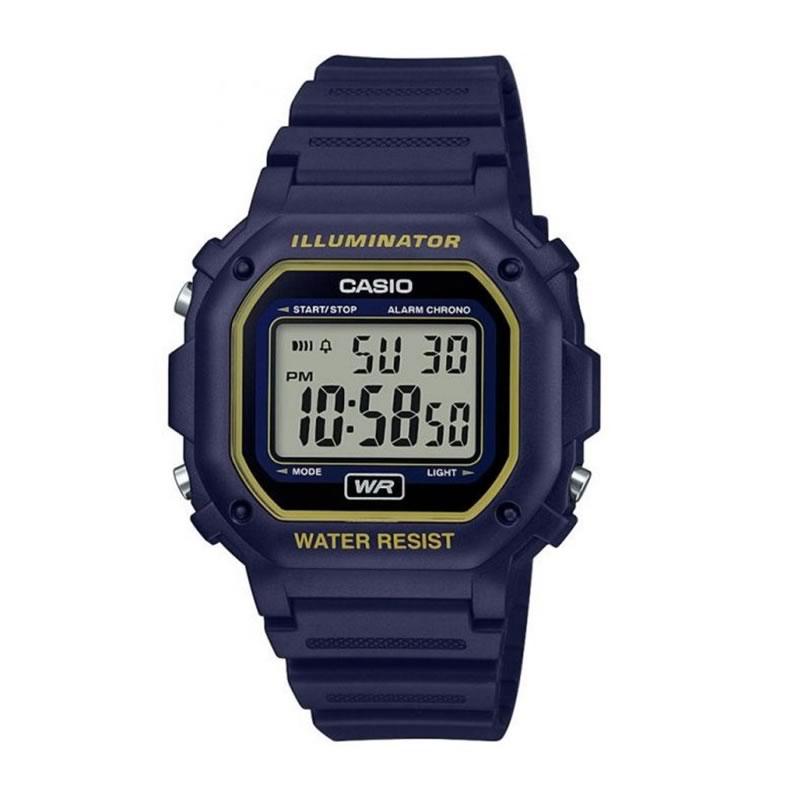 ad53b9a6de32 Reloj Casio F-108WH-2A2EF de hombre con caja y correa de resina ...