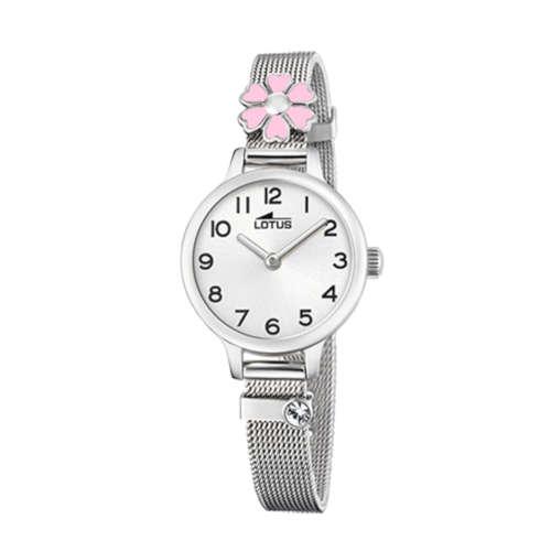 6d4665633f94 Reloj Lotus 18661/2 de niña con caja y brazalete de acero malla milanesa  Junior Collection