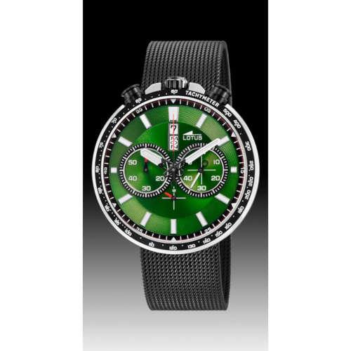 b4c5096766ed Reloj Lotus 10139 2 de hombre con caja de acero y malla milanesa ip black -  Joyería Oliva